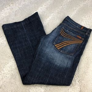 "7 for all mankind ""dojo"" size 29"